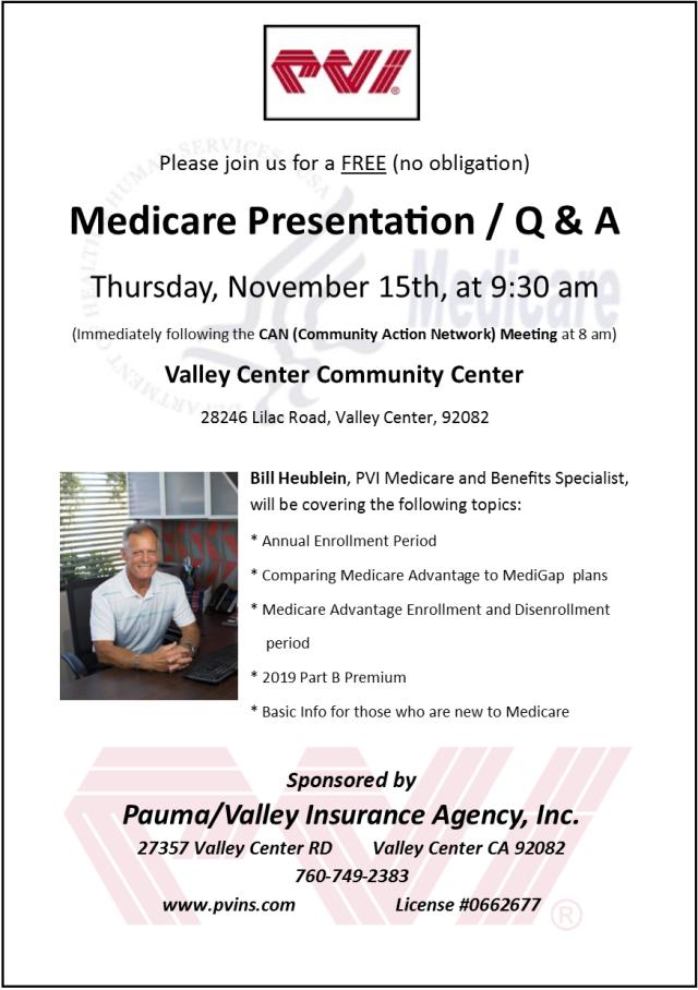 Medicare Meeting