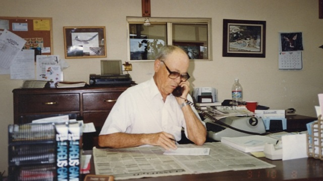 Van Quackenbush desk